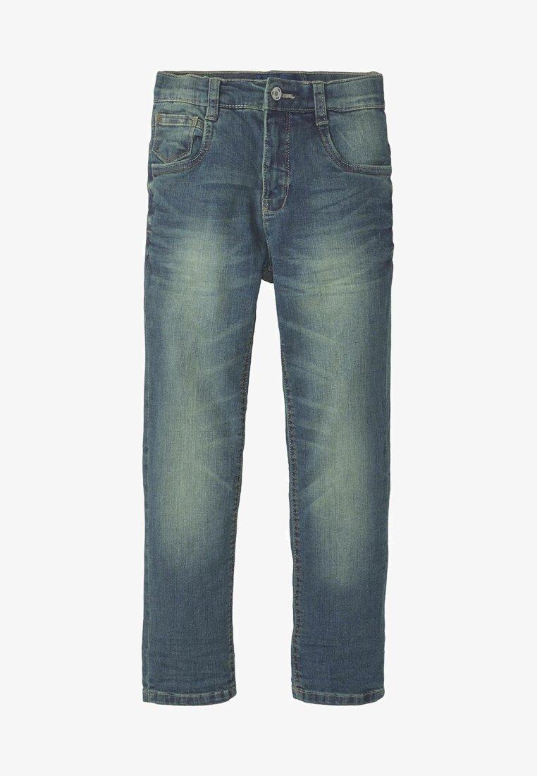 TOM TAILOR - Straight leg jeans - blue denim