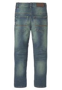 TOM TAILOR - Straight leg jeans - blue denim - 1