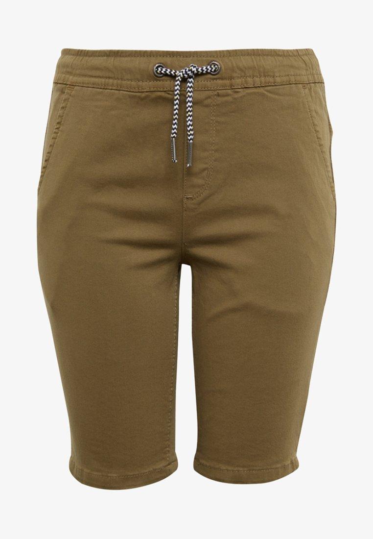 TOM TAILOR - JIM BERMUDA - Jeans Shorts - olive
