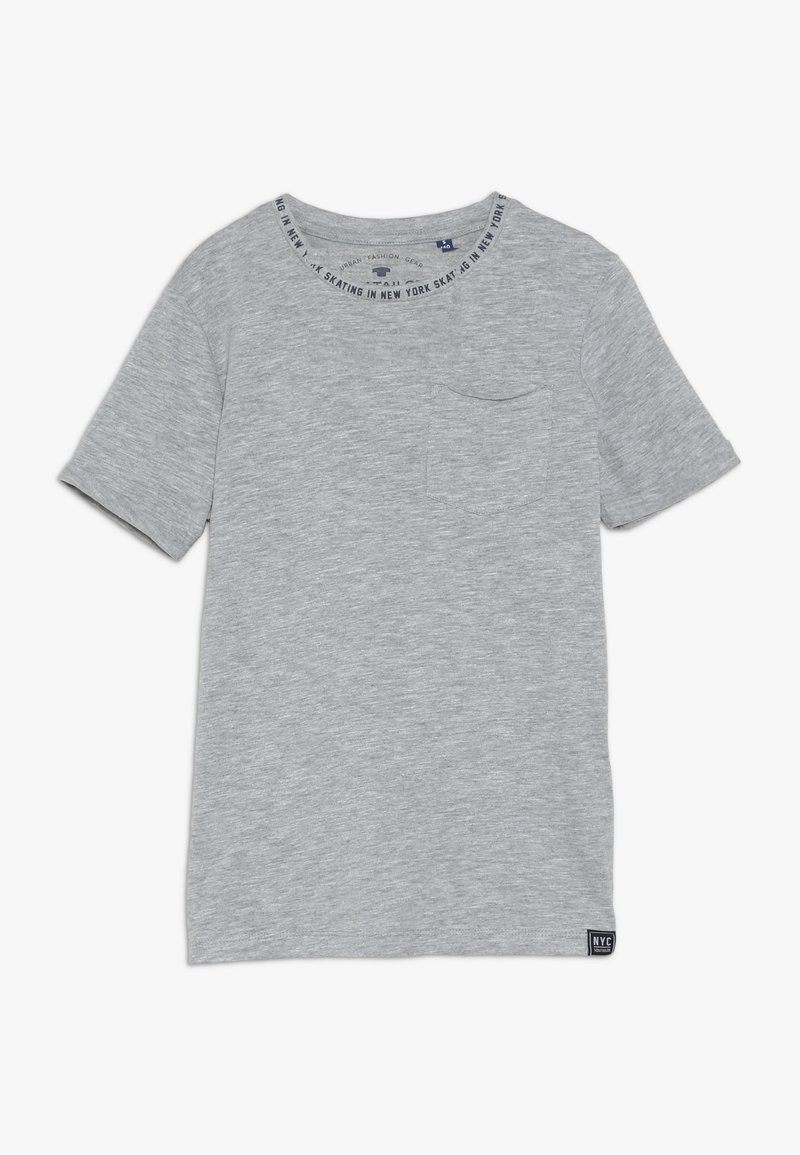 TOM TAILOR - SOLID - T-shirts print - gray