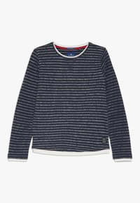 TOM TAILOR - SOLID - Sweatshirt - dress blue - 0