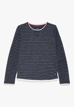 SOLID - Sweatshirt - dress blue