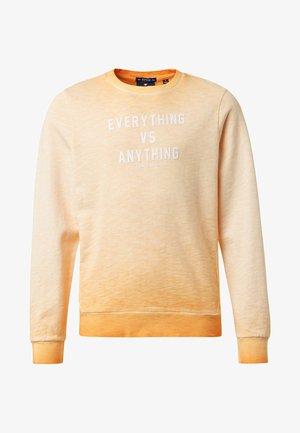 MIT PRINT - Sweater - orange