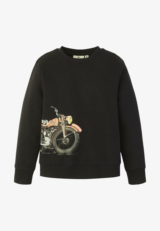 STRICK & SWEATSHIRTS SWEATSHIRT MIT PRINT - Sweater - dark navy|blue