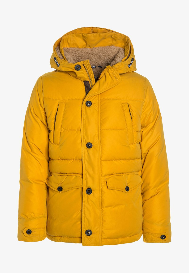 TOM TAILOR - HOOD - Vinterjacka - golden yellow/yellow