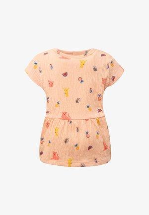 T-shirt print - apricot
