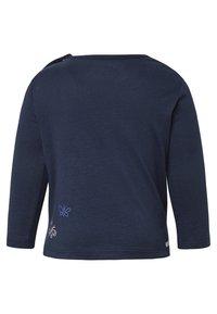 TOM TAILOR - MIT PRINT - Zip-up hoodie - black iris/blue - 1