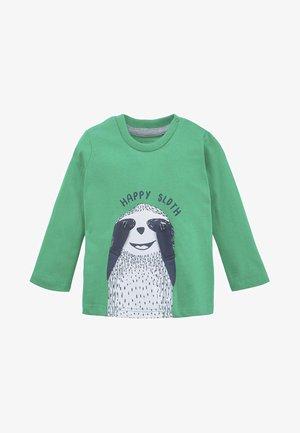 MIT PRINT - Long sleeved top - green