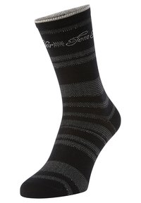 TOM TAILOR - 2PACK - Sports socks - black - 2
