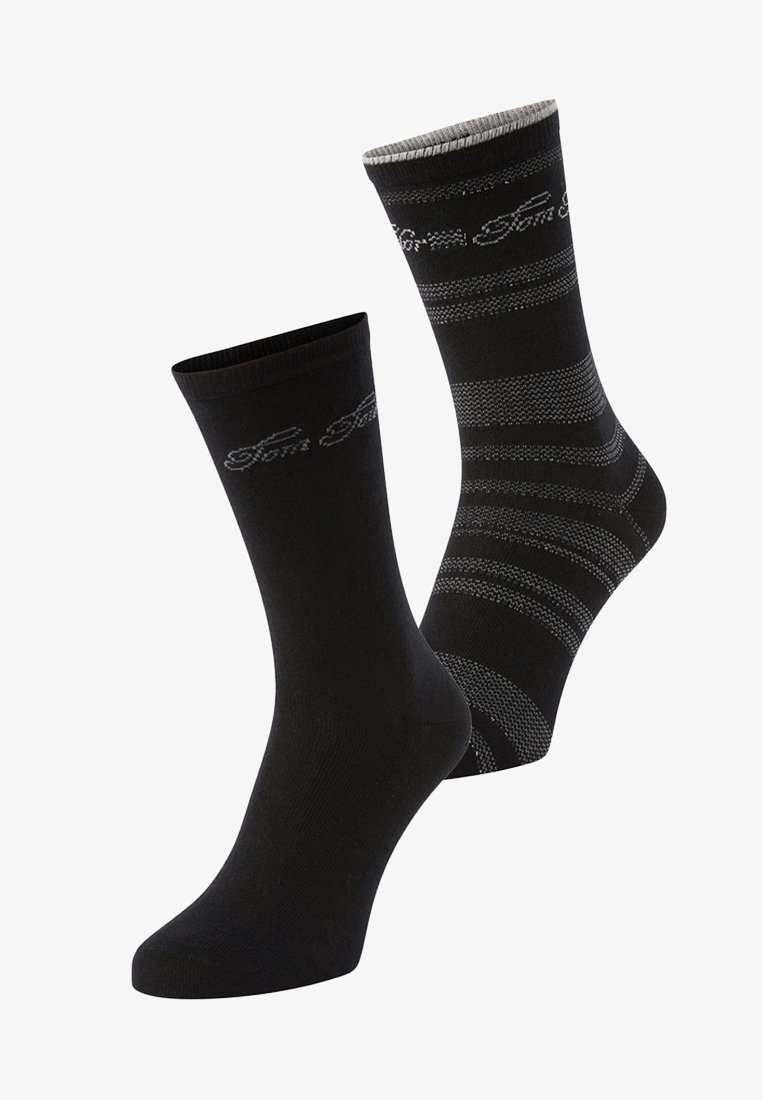 TOM TAILOR - 2PACK - Sports socks - black