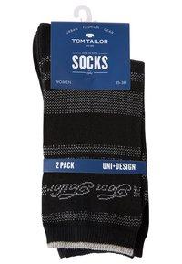 TOM TAILOR - 2PACK - Sports socks - black - 6