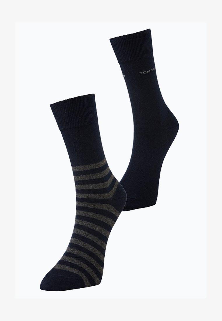 TOM TAILOR - 2 PACK - Sports socks - dark navy