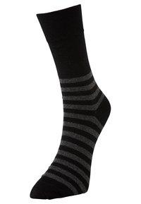 TOM TAILOR - 2 PACK - Sports socks - black - 1