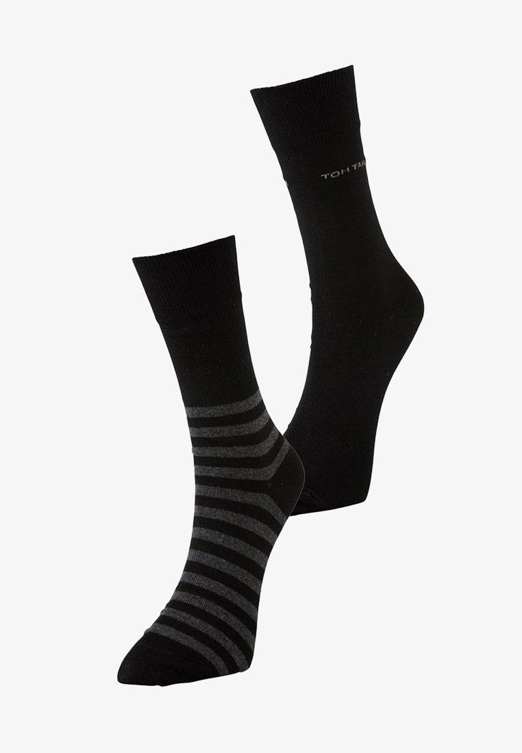TOM TAILOR - 2 PACK - Sports socks - black