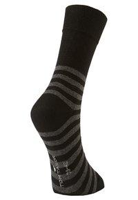 TOM TAILOR - 2 PACK - Sports socks - black - 3