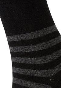 TOM TAILOR - 2 PACK - Sports socks - black - 4