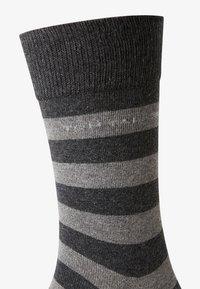 TOM TAILOR - 2PACK - Sports socks - dark grey - 3