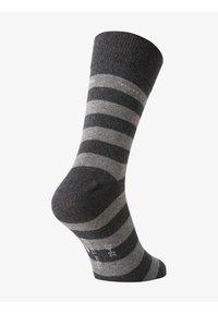 TOM TAILOR - 2PACK - Sports socks - dark grey - 2