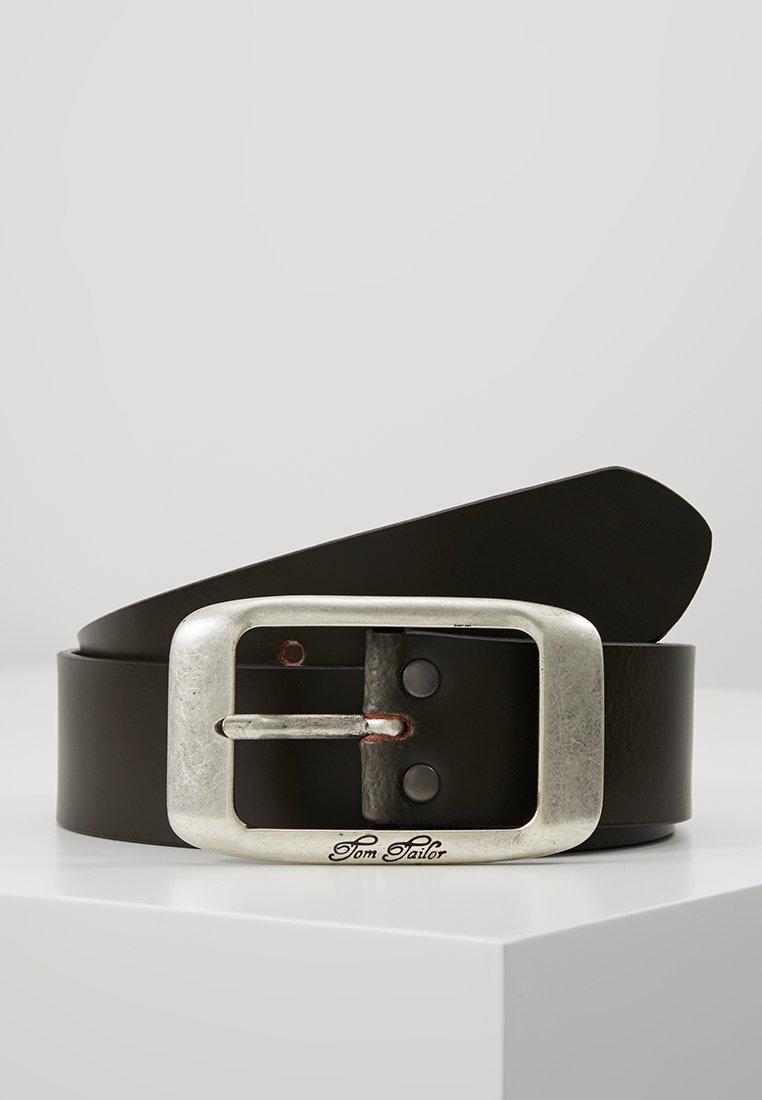 TOM TAILOR - Belt - dark brown