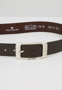 TOM TAILOR - Vyö - dark brown - 4
