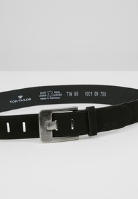 TOM TAILOR - Belt - black - 4
