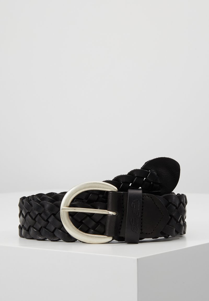 TOM TAILOR - Cinturón trenzado - schwarz