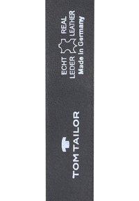 TOM TAILOR - Belt - grey - 3