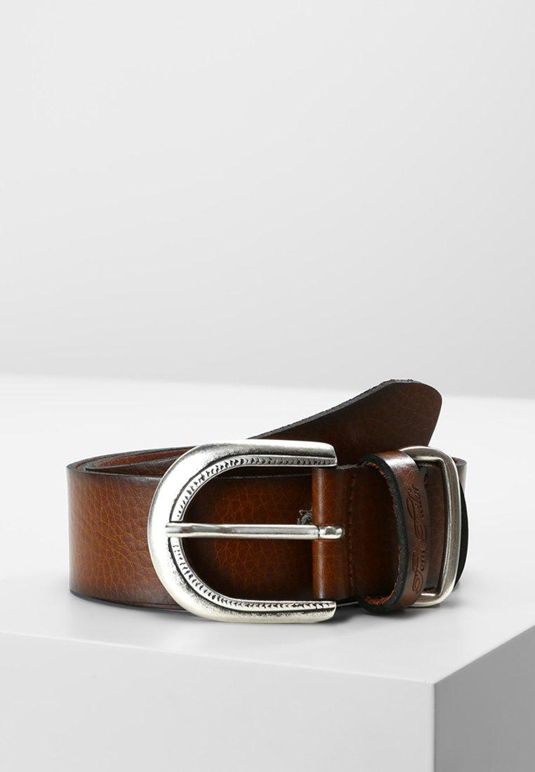 TOM TAILOR - Formální pásek - brown