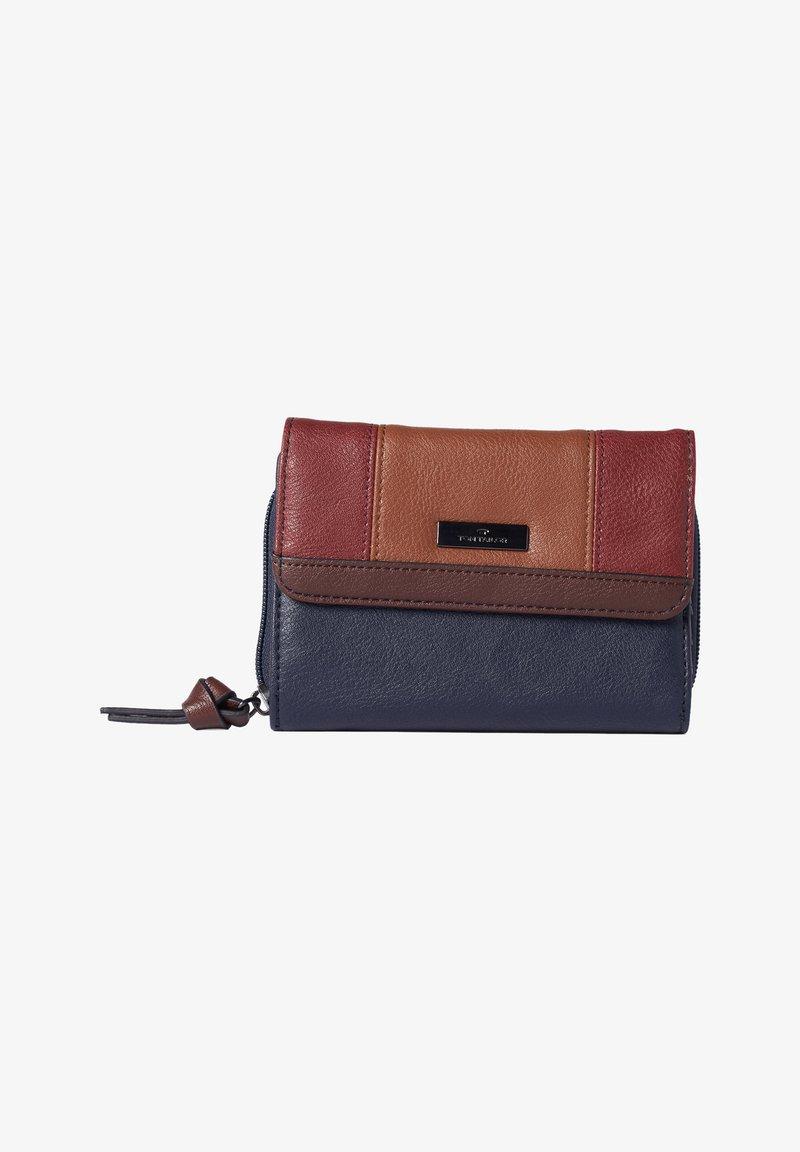 TOM TAILOR - BAGS PORTEMONNAIE JUNA FLASH - Wallet - blue/brown