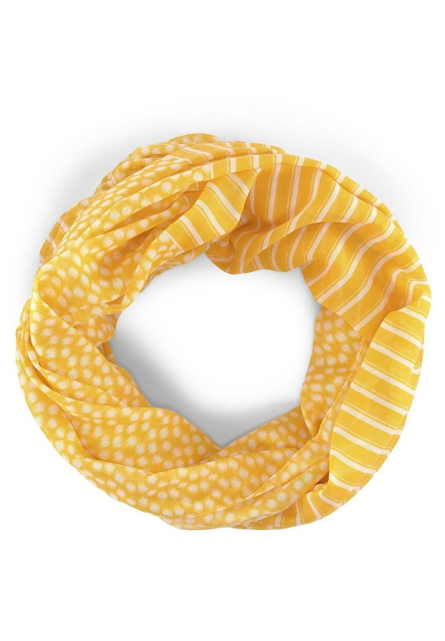 TUBE  - Schlauchschal - yellow dot design