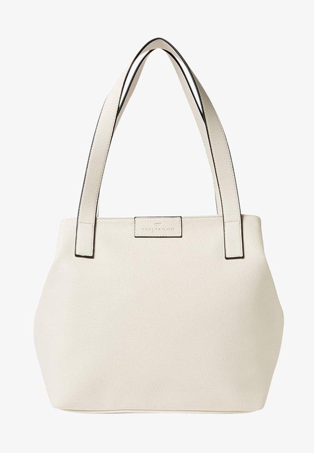 MIRI ZIP  - Shoppingväska - white