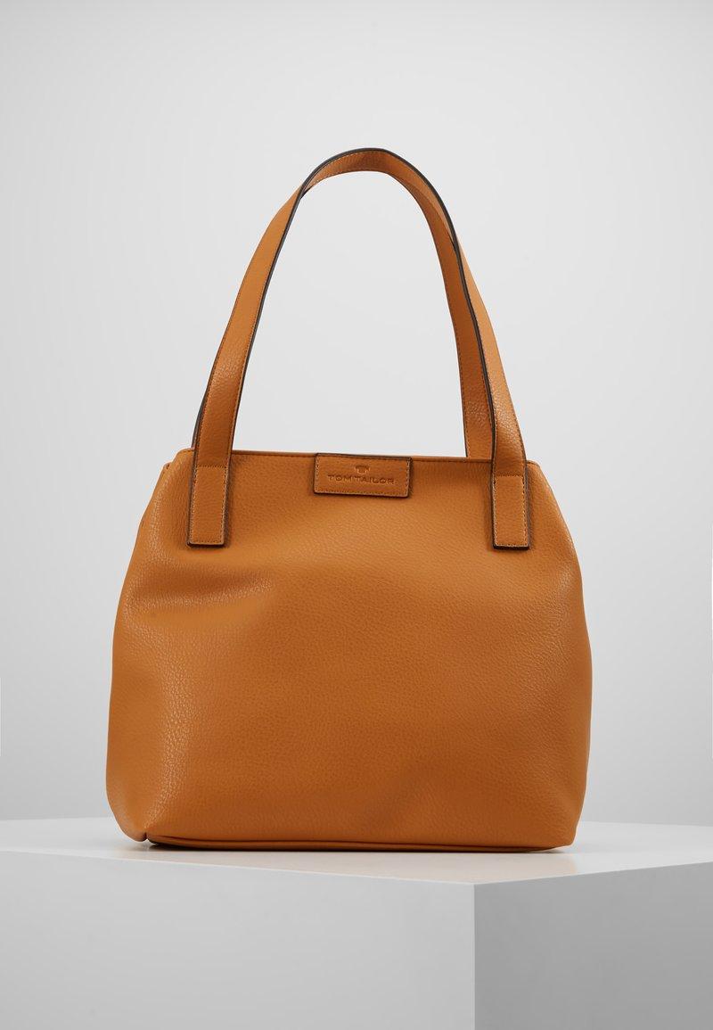 TOM TAILOR - MIRI ZIP  - Shopping bags - yellow