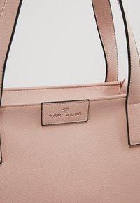 TOM TAILOR - MIRI ZIP  - Tote bag - rose - 7