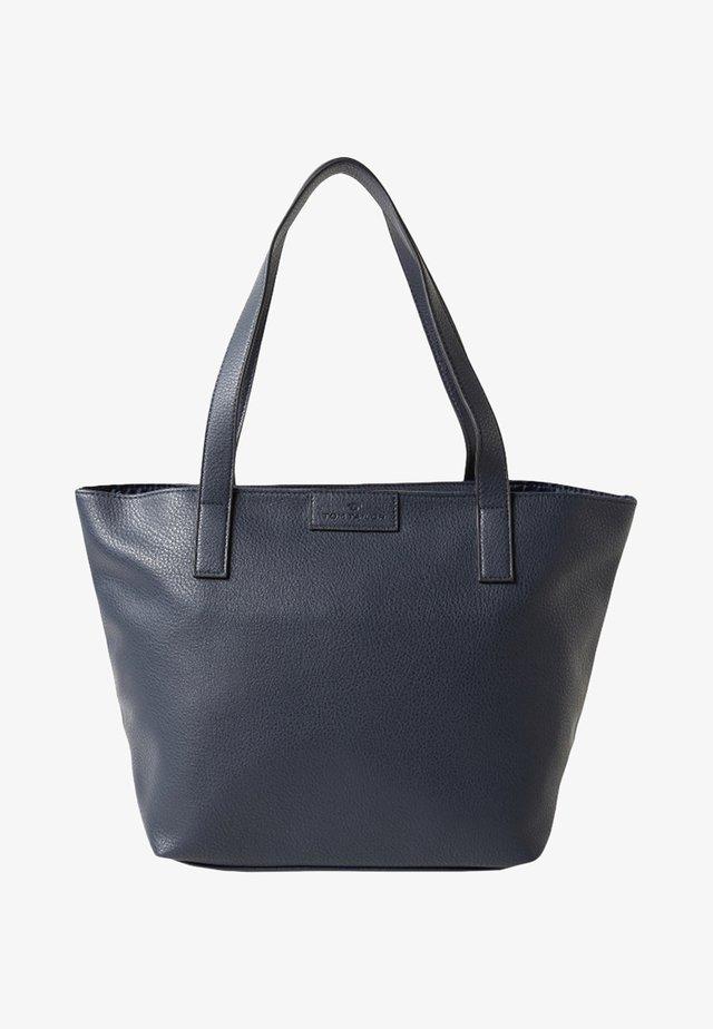 MIRI ZIP  - Shopping Bag - blue