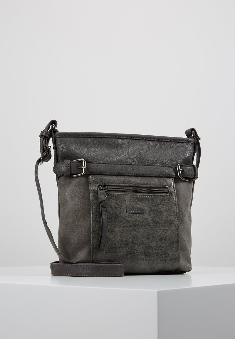 TOM TAILOR - JUNA CROSS BAG - Schoudertas - grau