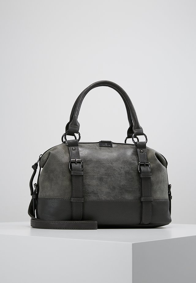 JUNA BOWLINGBAG - Handtasche - grau