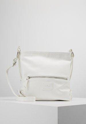 ELIN CROSS BAG - Taška spříčným popruhem - white