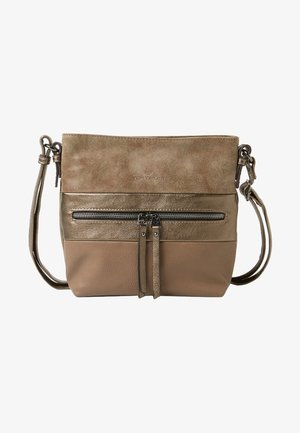 MARIT - Across body bag - taupe/taupe