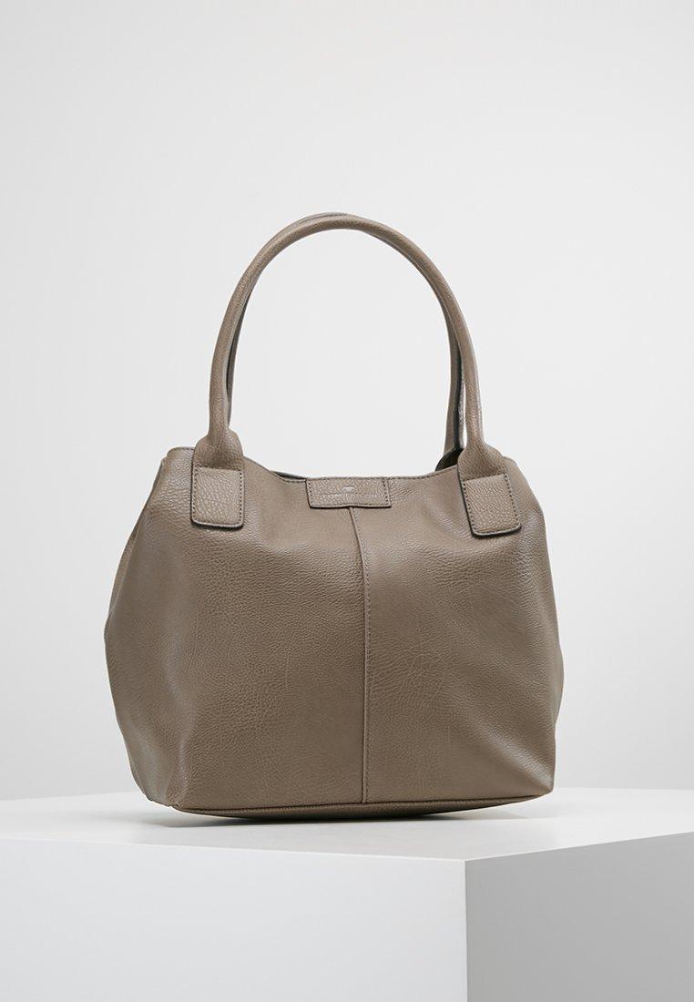 TOM TAILOR - MIRIPU - Håndtasker - taupe