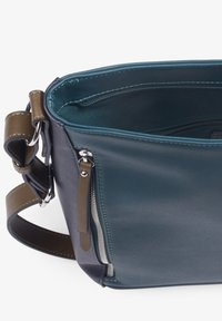 TOM TAILOR - ALEXIS HOBO - Schoudertas - dark blue/cognac - 3