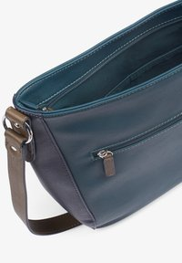 TOM TAILOR - ALEXIS HOBO - Schoudertas - dark blue/cognac - 2