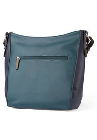 TOM TAILOR - ALEXIS HOBO - Schoudertas - dark blue/cognac - 1