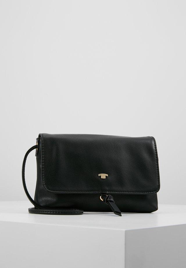 LUNA FALL FLAPBAG - Across body bag - black