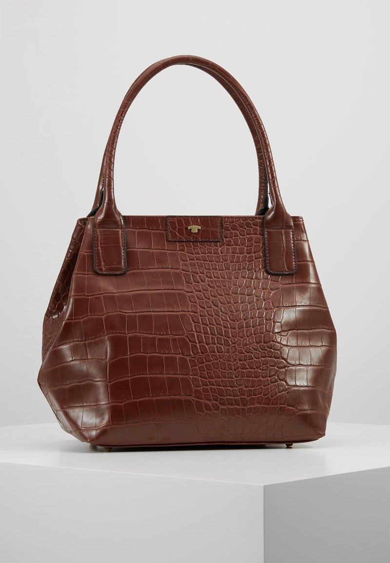 TOM TAILOR - MIRI CROC - Håndtasker - brown