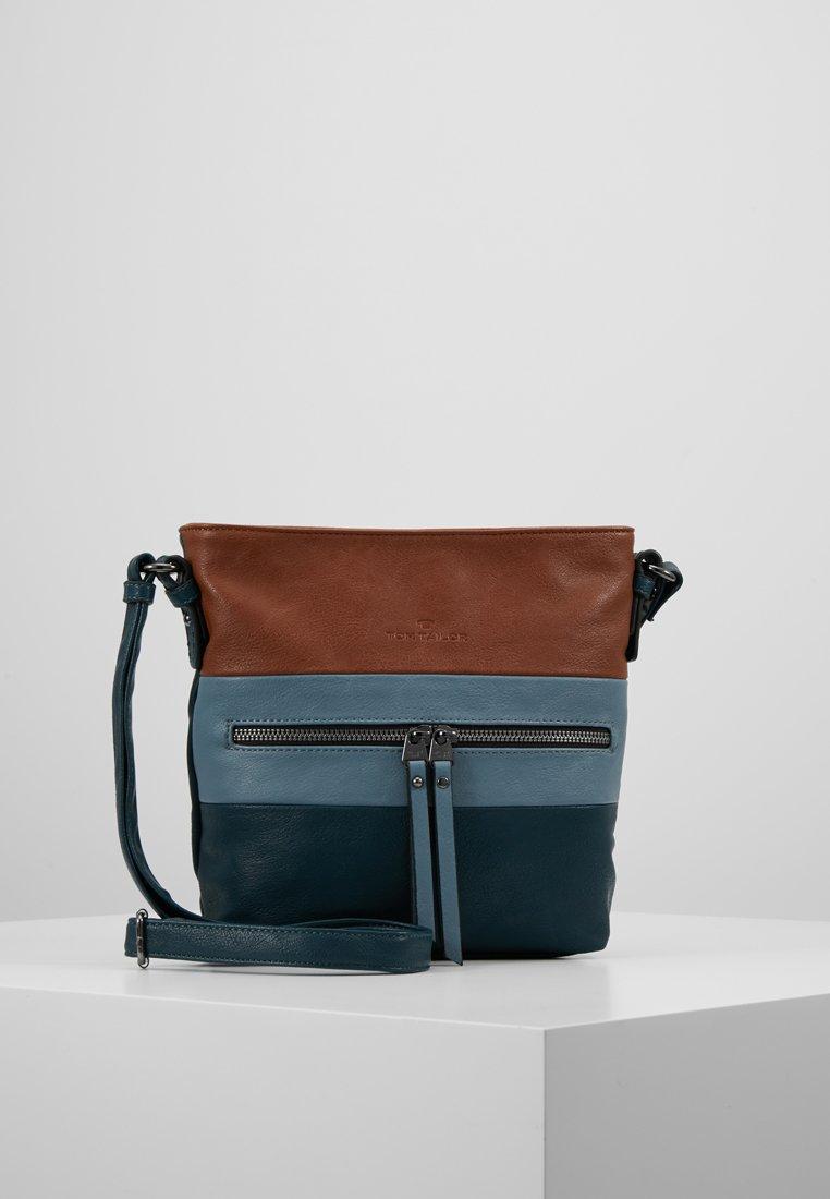 TOM TAILOR - ELLEN CROSSBAG - Across body bag - blue