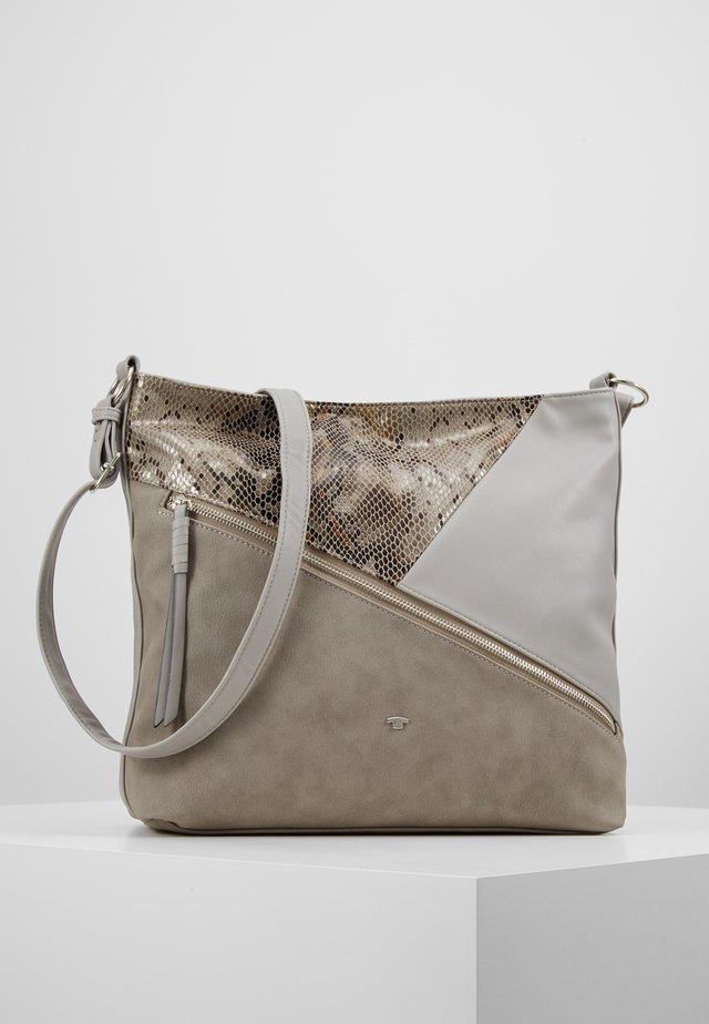 BERGAMO - Torba na ramię - mixed grey