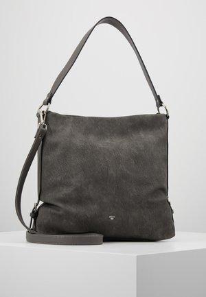 PERUGIA - Taška spříčným popruhem - dark grey
