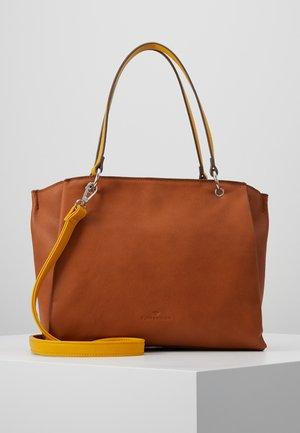 ALASSIO - Shopping Bag - cognac