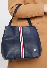 TOM TAILOR - MIRI RIMINI - Handbag - dark blue - 1
