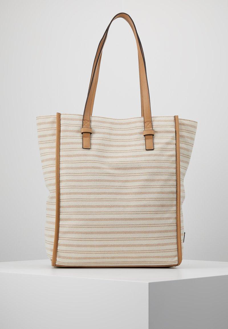 TOM TAILOR - TORINO - Shoppingveske - beige